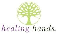 Healing Hands scrubs logo