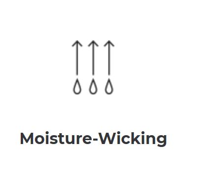 Barco Scrubs moisture wicking logo