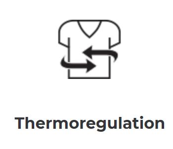 Barco Scrubs thermoregulation logo
